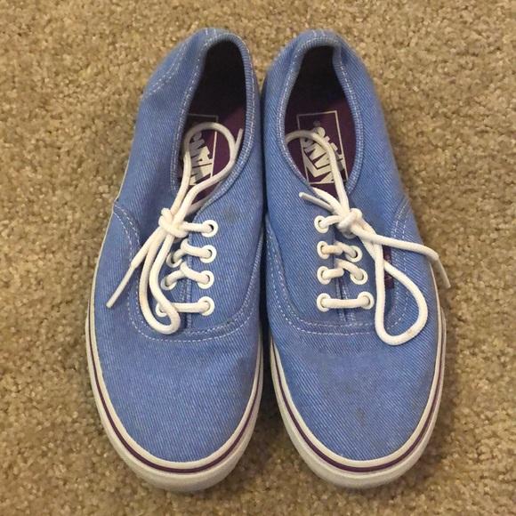 Blue Periwinkle Vans | Poshmark